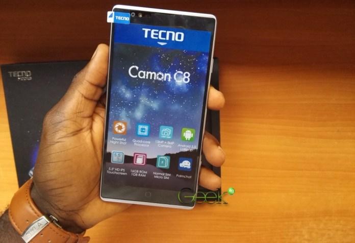 Tecno-Camon-C8-Front