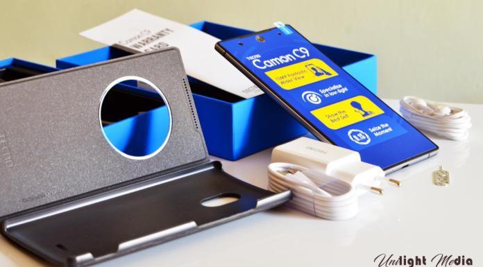 TECNO Camon C9 Packaging