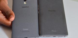 TECNO Camon C9 Back look