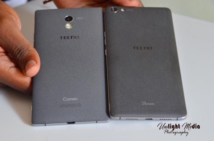 TECNO Camon C9 Back look