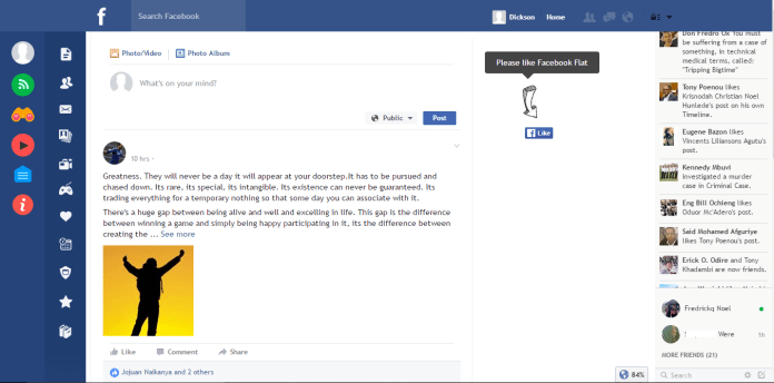 You Can Change Facebook Desktop UI with this Chrome