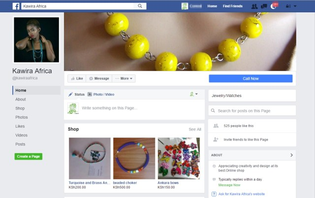 New Facebook Page UI