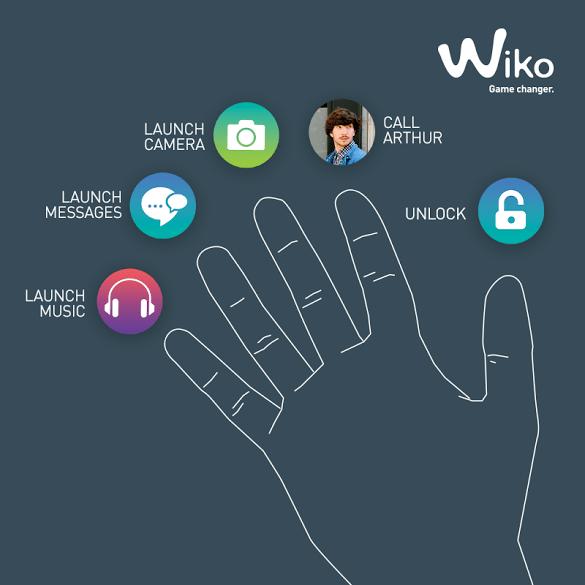 Wiko Fingerprint Poster