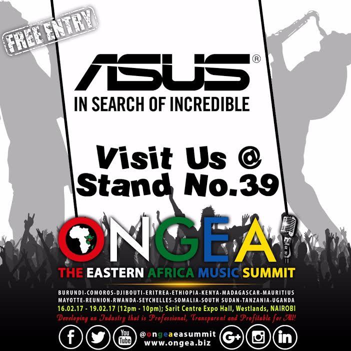 Asus Kenya Proud to be part of 2017 Ongea Festival