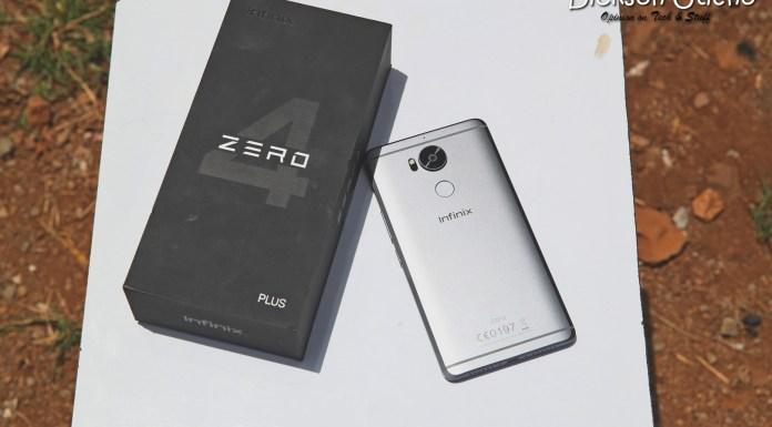 Infinix Zero4Plus Box and Phone