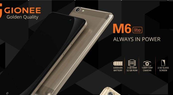 Gionee M6 Lite