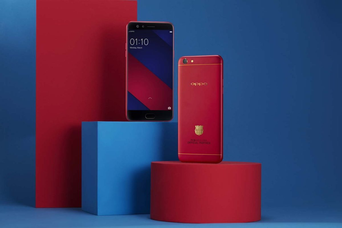 OPPO F3 Barcelona Edition (Limited) with Real Gold Launching Soon in Kenya