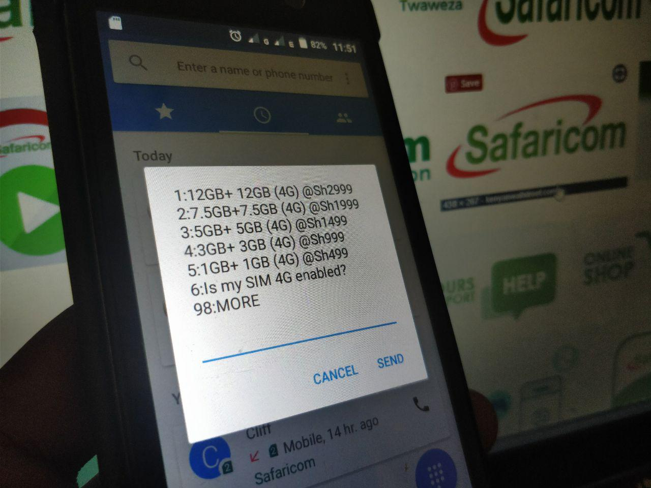 Safaricom's Double Data Promotion gives you extra bundles