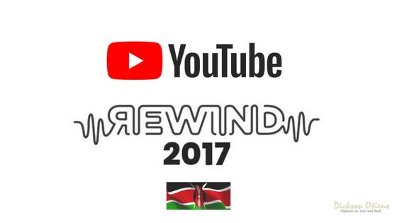 YouTube Rewind Kenya 2017