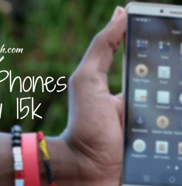 Smartphones under 15k Kenya