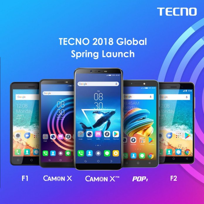 TECNO Phones 2018