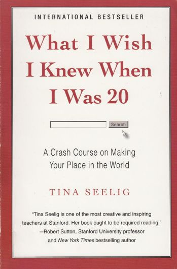 Tina seeling what I wish I knew when I was 20
