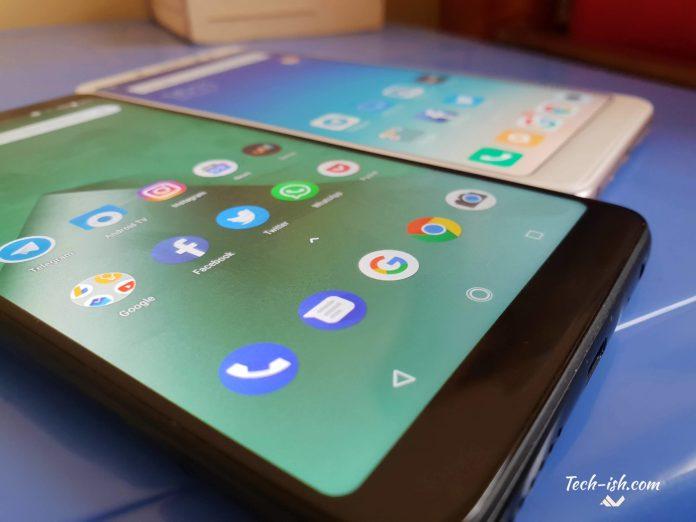Infinix Note 5's Display