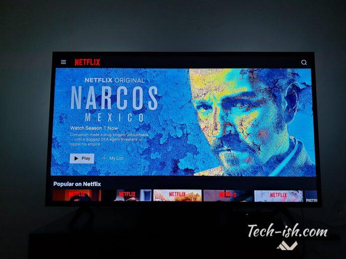 Netflix for Mobile on TV