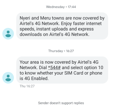 Airtel 4G Netowrks KenyaAirtel 4G Netowrks Kenya