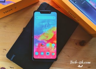 Infinix Hot 7 Unboxing 2GB RAM, 32GB storage with 4000mAh battery for KES. 10,999 only.