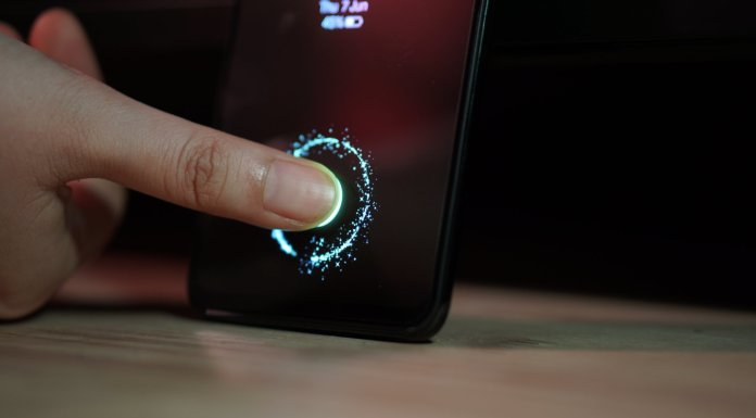 Samsung Galaxy A50 Under Display Fingerprint
