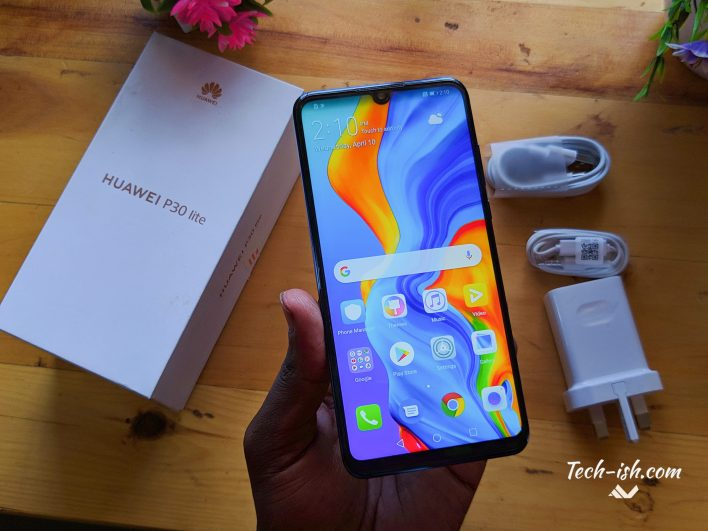 Huawei P30 Lite Unboxing Price in Kenya