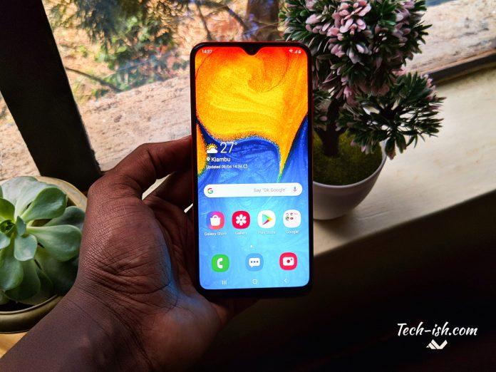 Samsung Galaxy A20 Kenya