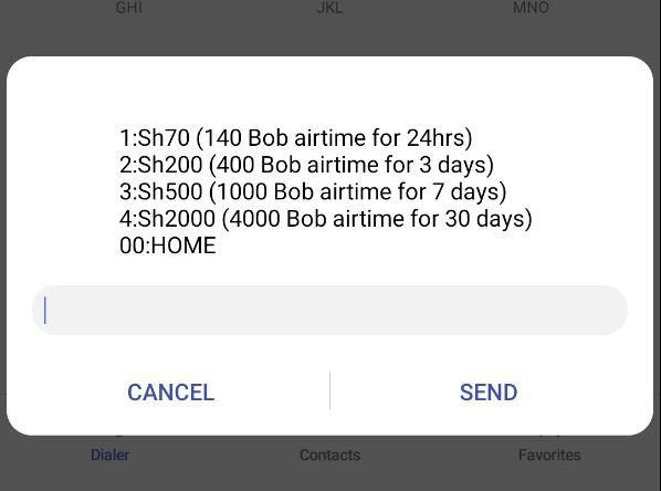 """Safaricom announces """"Kredo Dabo Dabo"""" Double Airtime Offer The double airtime can be used across all networks for Calls, SMS and Data consumed out of Bundles."""