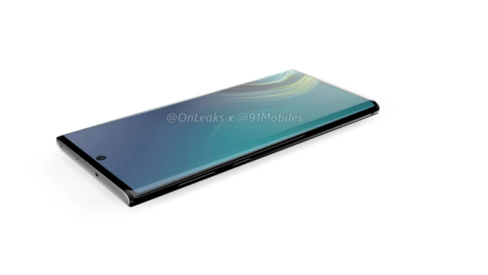 Samsung Galaxy Note 10 detailed renders show what we should expect