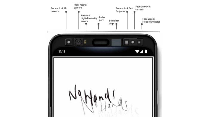 Google's Pixel 4 packs iPhone-like Face Unlock Tech hence huge bezel