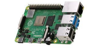 Raspberry Pi 3 Model B Board with 4GB LPDDR4