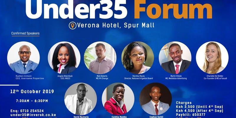 Under35 Forum Kenya Inversk