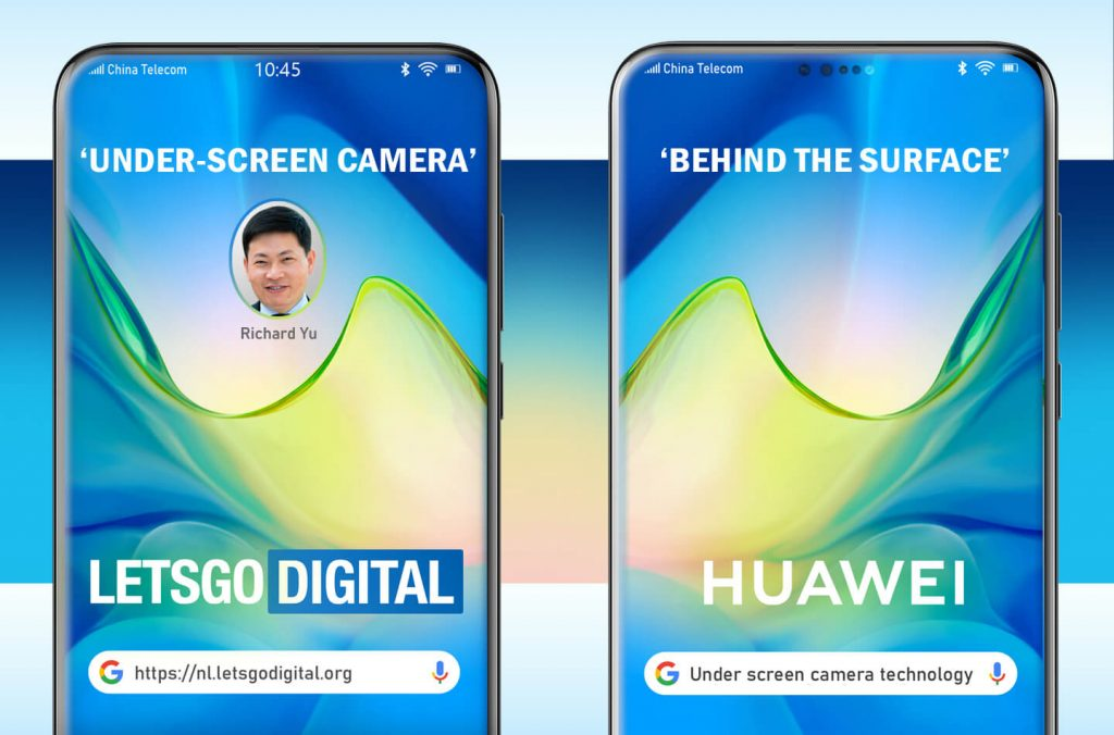 Huawei Under Display Camera Patent