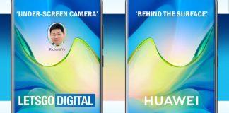 Huawei Under Display Camera Patent