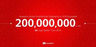 Huawei 200 Million Units
