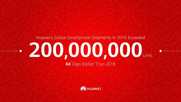 Huawei 200 Million Units