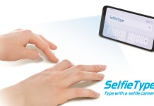 Samsung's SelfieType is an Invisible AI-powered Keyboard