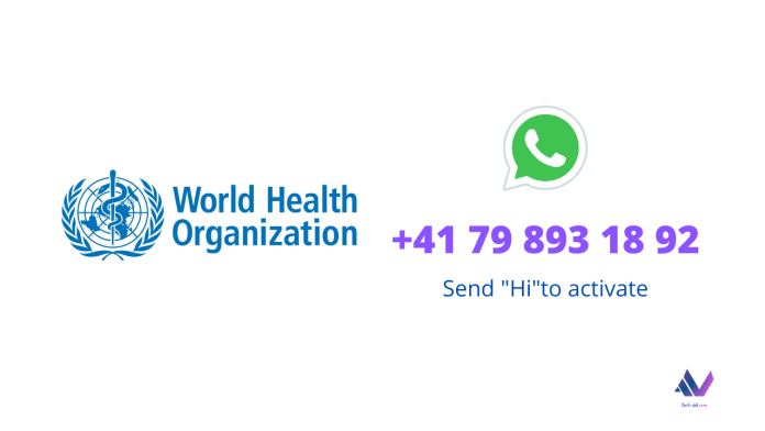 "The service can be accessed through texting +41 79 893 18 92 on WhatsApp. Users can simply type ""hi"" to activate the conversation, prompting a menu of options that can help answer their questions about COVID-19."