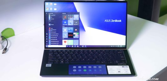 Asus Zenbook 14 (UX434F) 10th Gen Intel Processor, WiFi 6