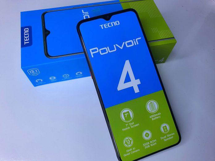 TECNO Pouvoir 4: the best features