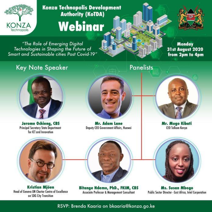 Konza Technopolis City Kenya Webinar