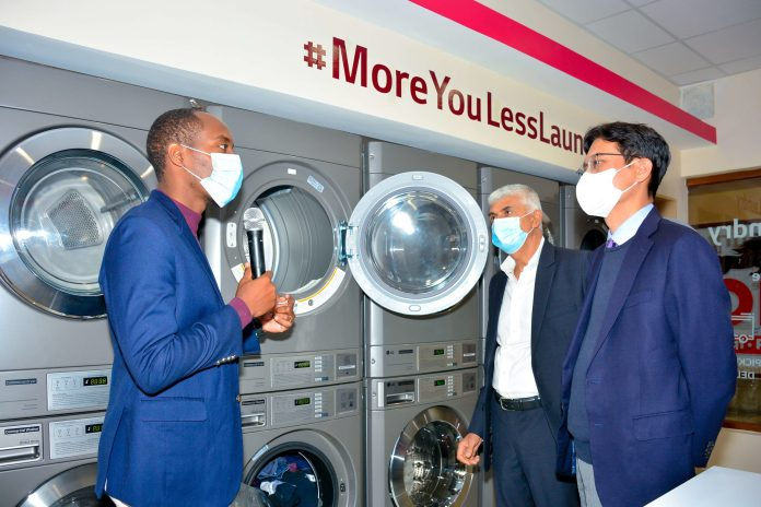 LG Electronics unveils its Commercial Laundry Reference Store in Buruburu
