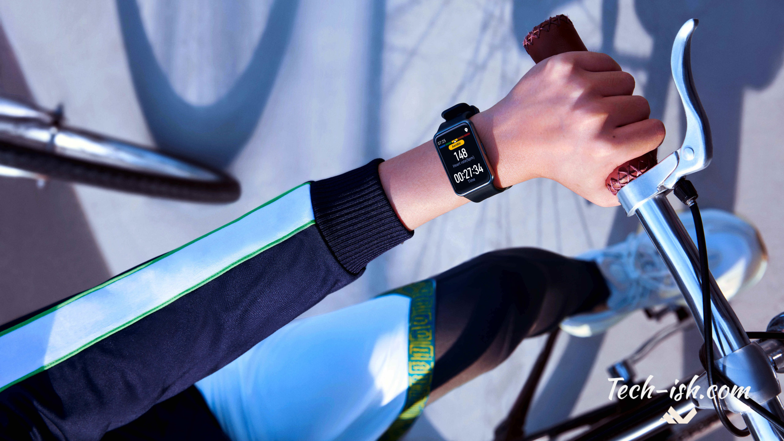 Huawei pitches the Watch FIT as the perfect companion for mountain climbers