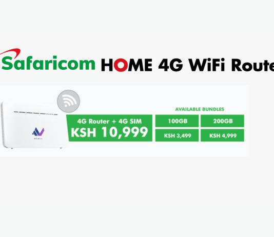 Safaricom HOME 4G Router