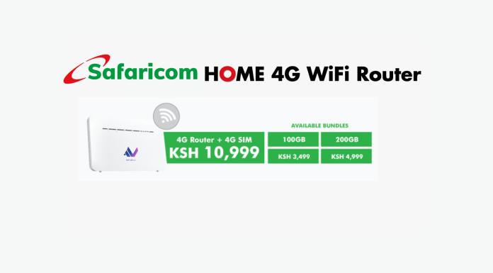 Safaricom HOME 4G Router