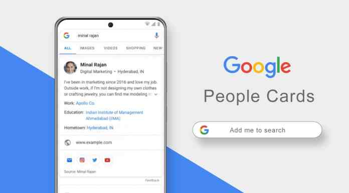 Add your Profile to Google with People Cards available in Africa