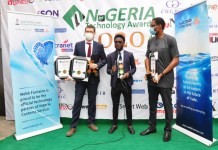 Webb Fontaine awarded Two Honours at Nigeria Technology Awards 2020