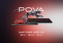 TECNO Pova is official with 6000mAh battery plus the Helio G80