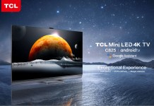 TCL 4K Mini LED TV C825