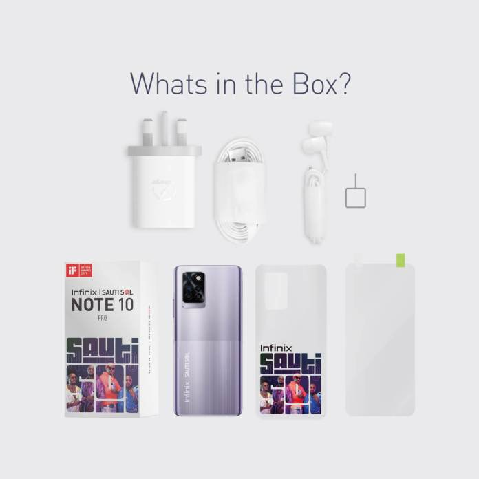 Infinix launches Limited Edition Sauti Sol NOTE 10 PRO