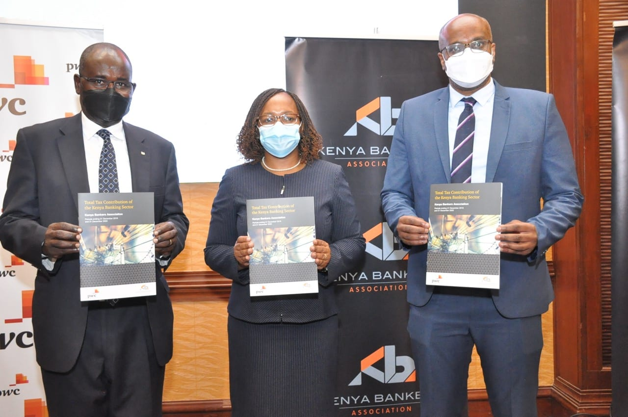 Banking Sector contributed 27% of all Corporate Taxes in Kenya in 2020 & 2019