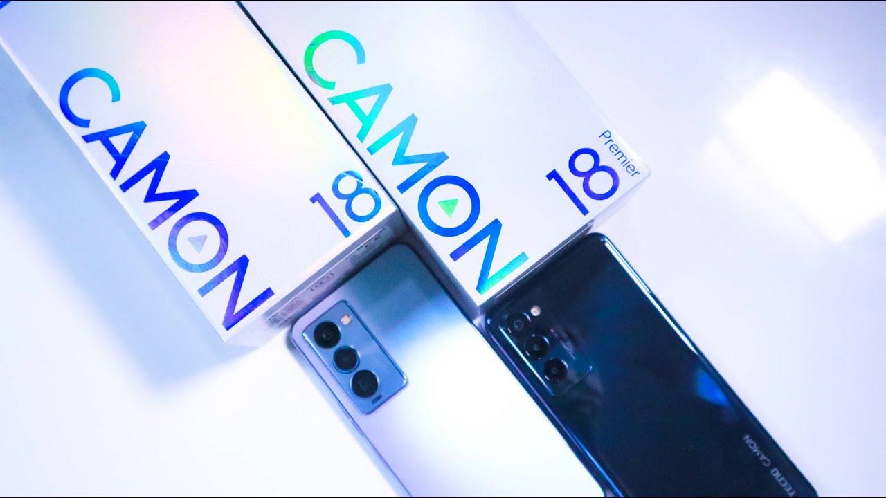 TECNO CAMON 18 Premier Unboxing Video