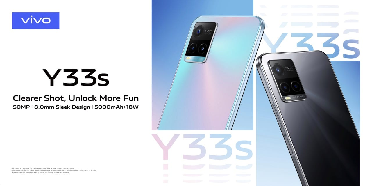 Vivo Y33s with 50MP Camera now available for KES 24,000