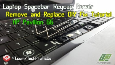 How to fix laptop keyboard spacebar key cap remove and replace spacebar HP Pavilion g6